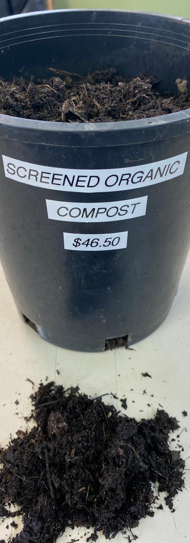 Screened Organic Compost