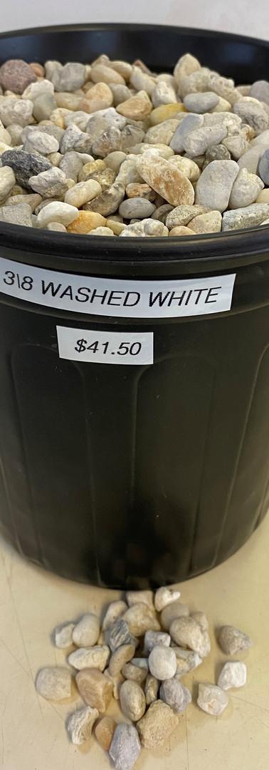 3/8 Washed White