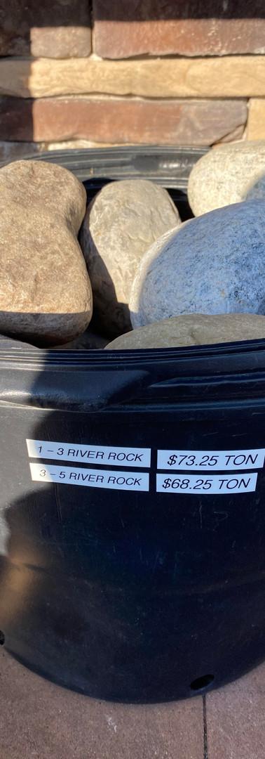 1 - 3 River Rock