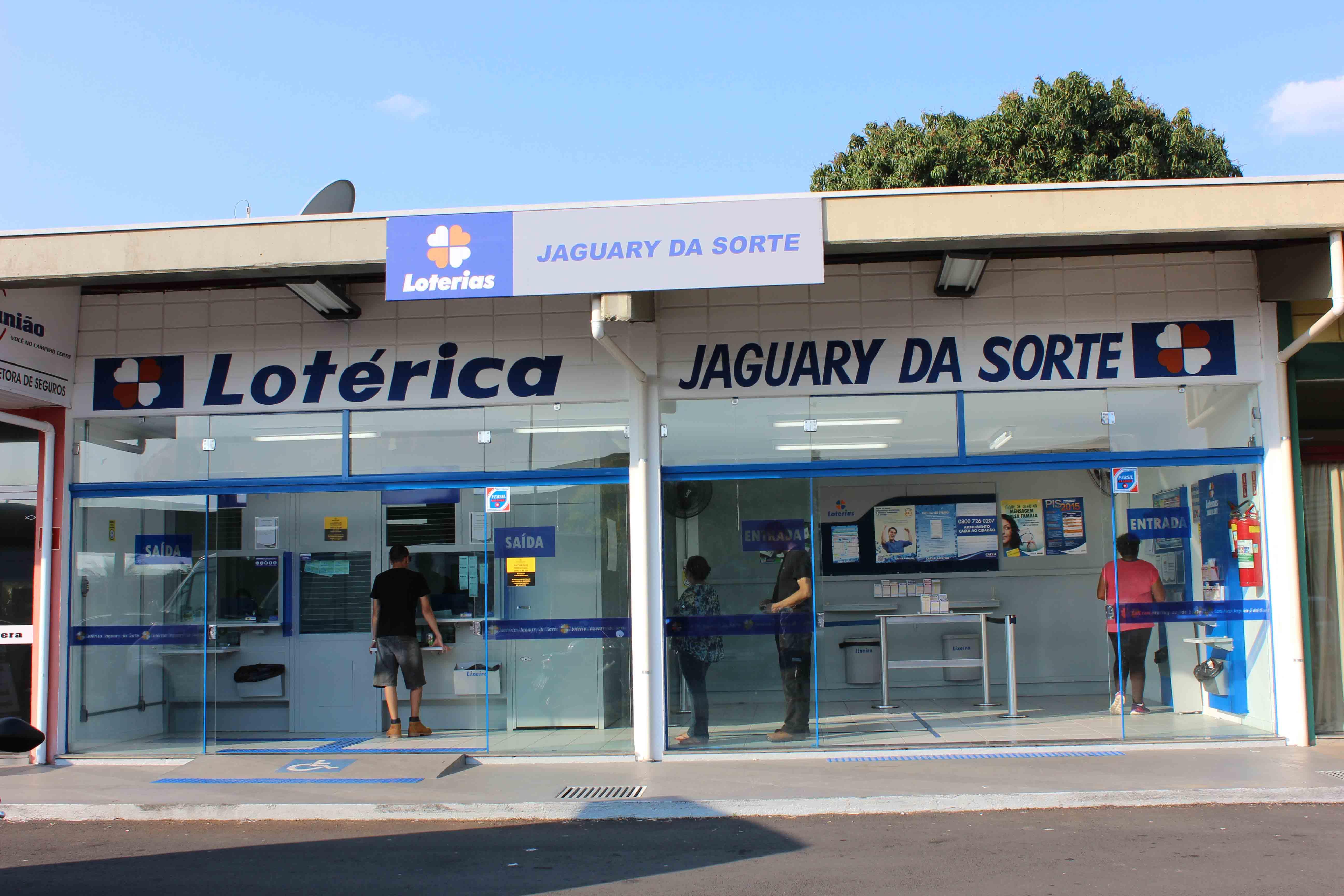 Casa Lotérica Jaguary da Sorte