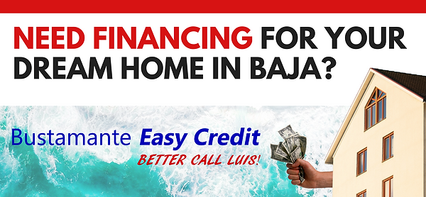 Need Financing for you dream house in ba
