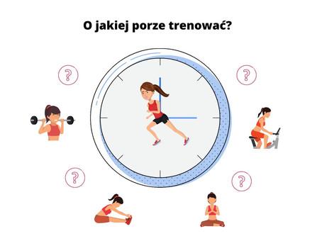 Jaka jest najlepsza pora dnia na trening?