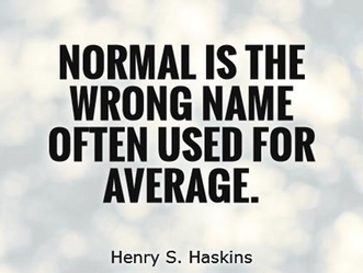 """""""Average"""" Does NOT Mean Normal"""
