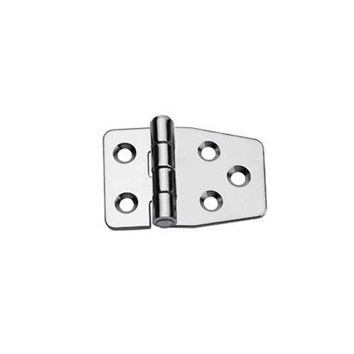 Hinges AISI 316,  Right, L 55mm, W 37mm, thick 2mm