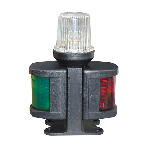 CLASSIC 12 All-Round & Port & Starboard Light with black housing
