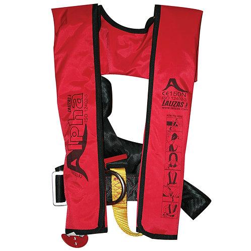 Alpha Inflatable Lifejacket 170N, ISO 12402-3