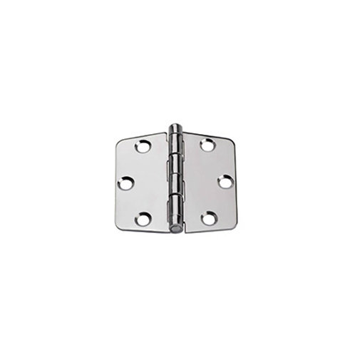 Hinges AISI 316, Right, L 64.5mm, W 60mm, thick 2mm