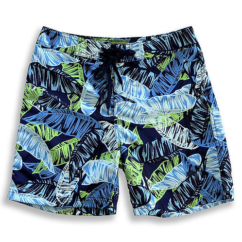 """La Palma Eco-Beachwear Surf Botanical Print 17"""" Boardshorts"""
