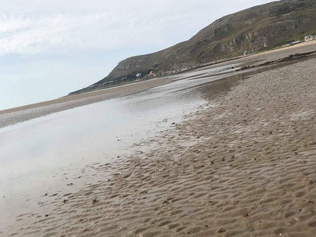 Skimboarding in North Wales