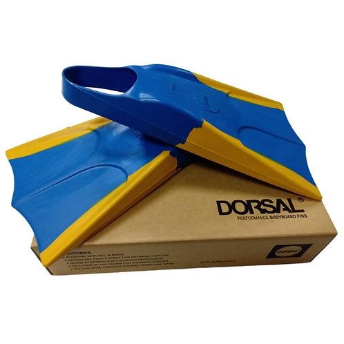 DORSAL Bodyboard Floating Swimfins (Flippers) Blue