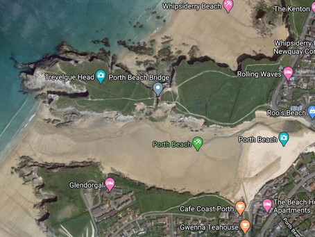 UK Skimboarding - Porth beach (Newquay, Cornwall)