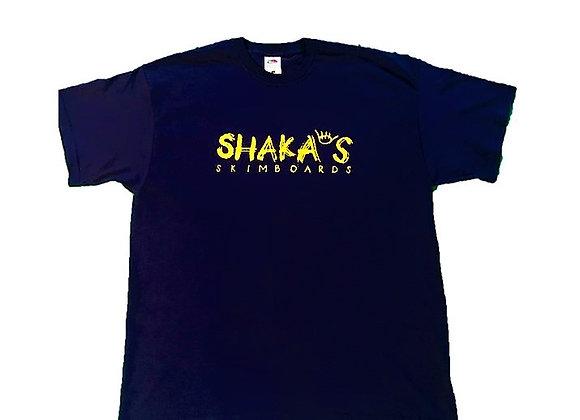 Shakas Skimboards Logo T-Shirt - Navy