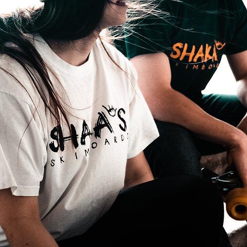 Shakas Skimboards Logo T-Shirt - White