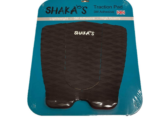 Shakas Surf & Skimboard Traction Pad - Black