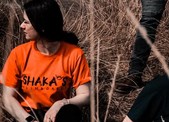 Shakas Skimboards Logo T-Shirt - Red
