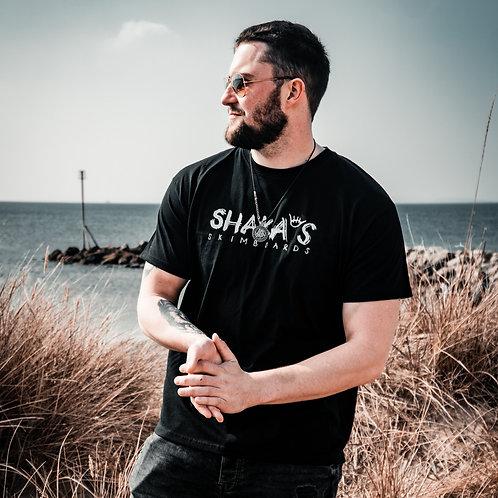 Shakas Skimboards Logo T-Shirt - Black
