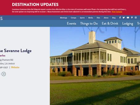 Visit Lake Charles: Destination Updates