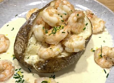 Grosse Savanne Shrimp Stuffed Potatoes:  Pete Robbins