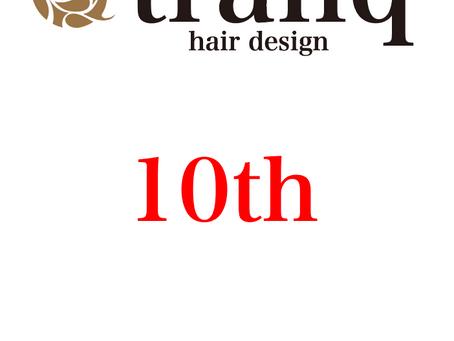 tranq hair design 10th anniversary