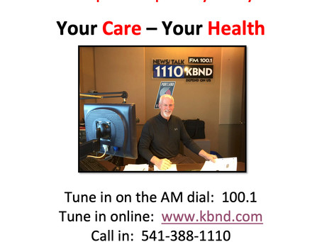 How do I tune into Dr. Wattenburg's Medical Talk Radio Show, Your Care - Your Health?
