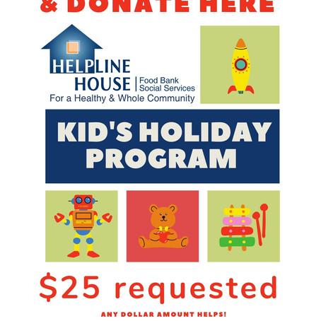 Kids' Holiday Program & Senior Giving Tree