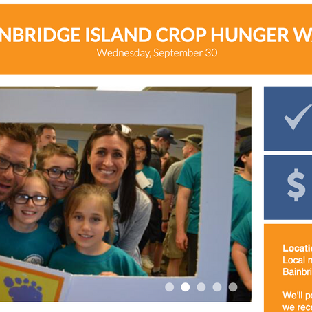 Join CROP Hunger Walk's Helpline House Team!