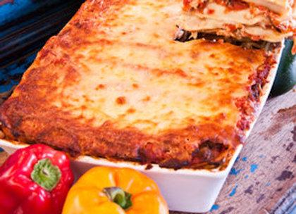 Windy Ridge Bakery - Spicy Italian Sausage, Mushroom, & Red Bell Pepper Lasagna