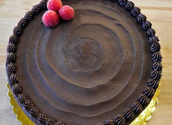 Windy Ridge Bakery - Dark Chocolate Raspberry Chiffon Cake
