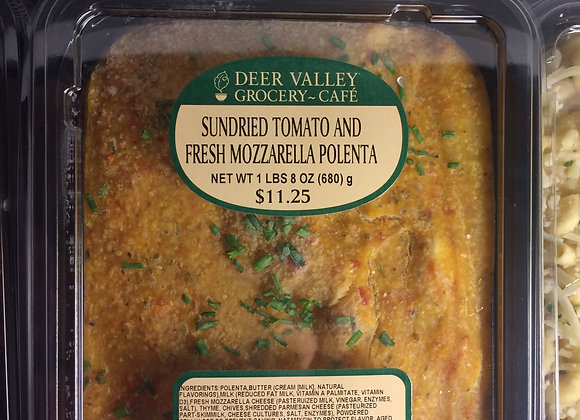 Deer Valley Grocery~Cafe - Sundried Tomato and Fresh Mozzarella Polenta