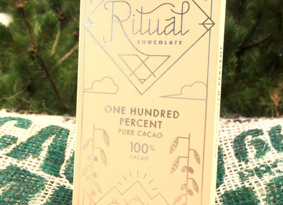 Ritual Chocolate - One Hundred Percent 100%