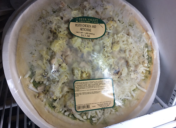 Deer Valley Grocery~Cafe - Pesto Chicken and Artichoke Pizza