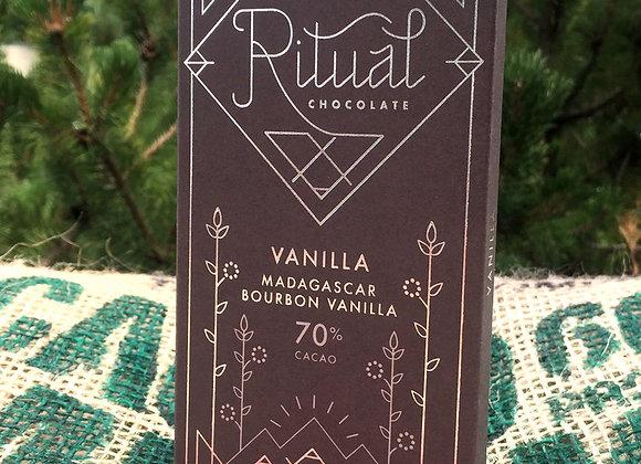 Ritual Chocolate - Vanilla Bar 70%
