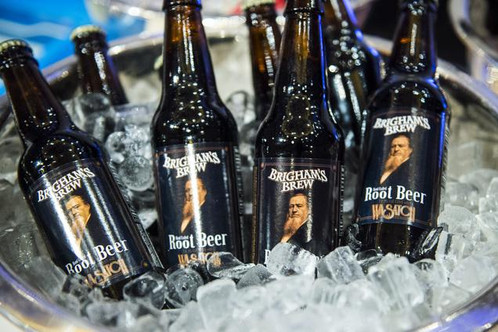 Image result for wasatch brewery brighams brew