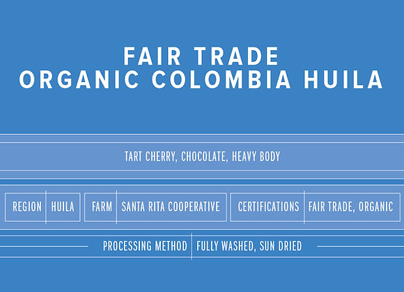 Pink Elephant Fair Trade Organic Colombia Huila