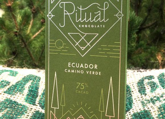 Ritual Chocolate - Ecuador 75%