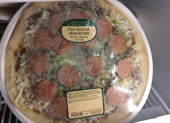 Deer Valley Grocery~Cafe - Italian Sausage and Caramelized Onion Pizza
