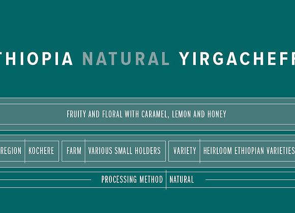 Pink Elephant Ethopia Natural Yirgacheffe