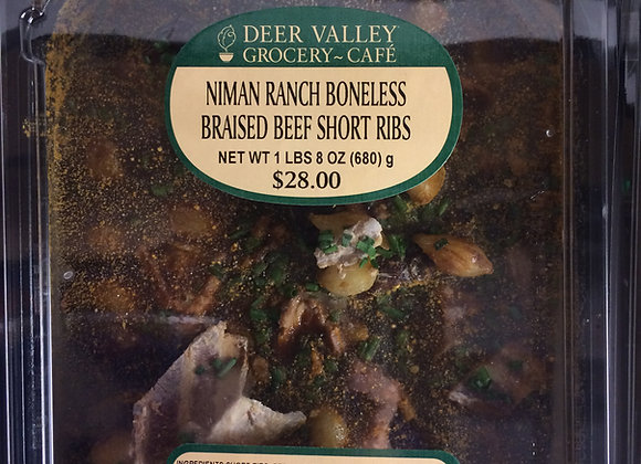 Deer Valley Grocery~Cafe - Niman Ranch Boneless Braised Beef Short Ribs