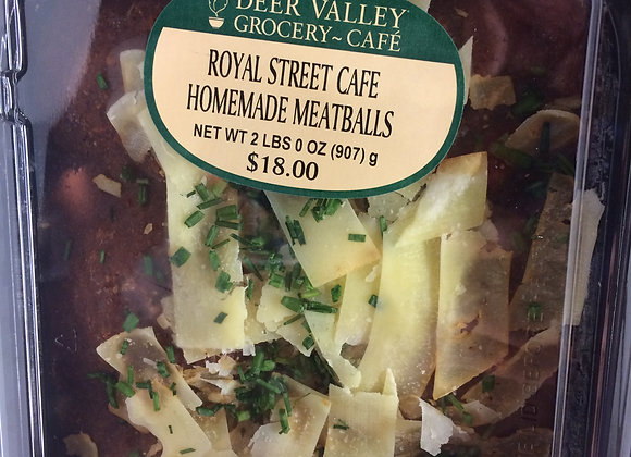 Deer Valley Grocery~Cafe - Royal St. Cafe Homemade Meatballs