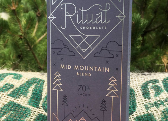 Ritual Chocolate - Mid Mountain Blend 70%