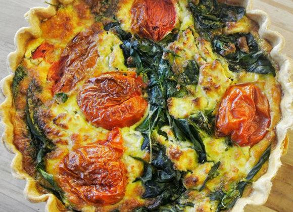 Windy Ridge Bakery - Tomato, Spinich, & Goat Cheese Quiche