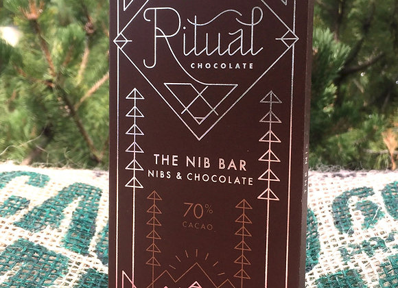 Ritual Chocolate - The Nib Bar 70%
