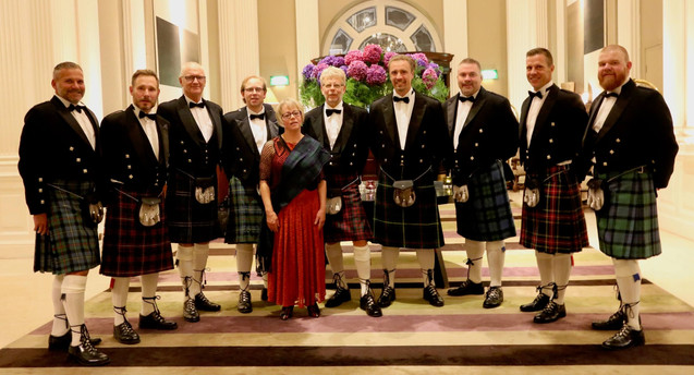 Kilted evening