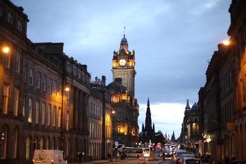 Edinburgh twilight