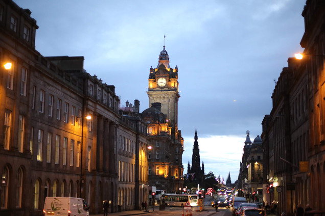 Edinburgh twilight