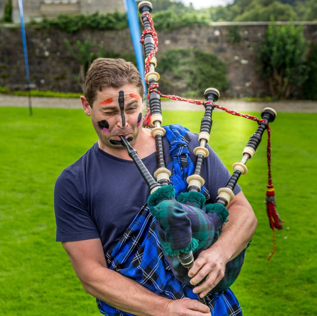 Highland games piper facepaint.jpg