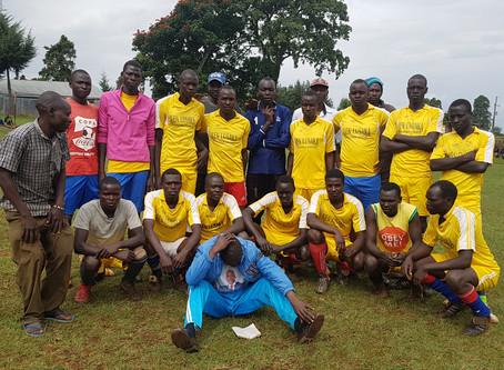 Fußballturnier in Kamuneru