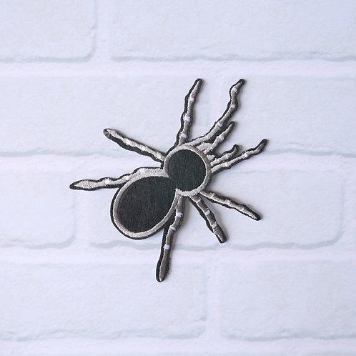 Patch thermocollant Araignée Noire - Accessoire Halloween