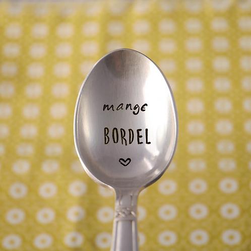 Petite Cuillère Métal Argenté - Mange Bordel