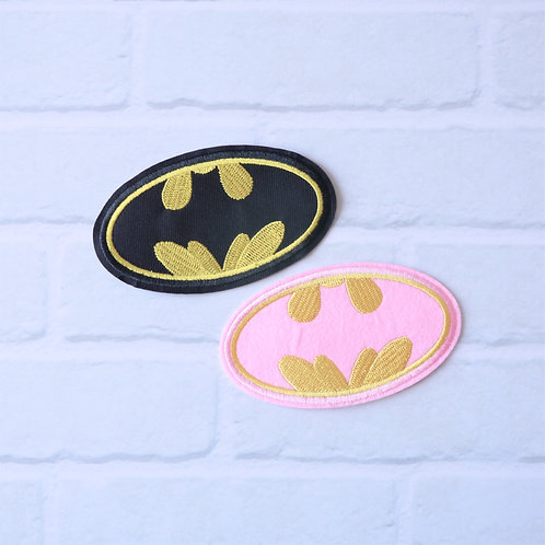 Patch thermocollant Batman & Batgirl - Super-héros DC Comics